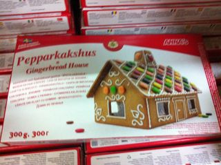 Flatpack gingerbread house