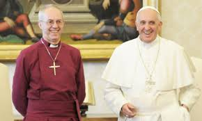 Pope Francis ABC Justin Welby